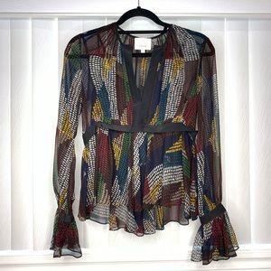 Cinq a sept designer shirt / blouse